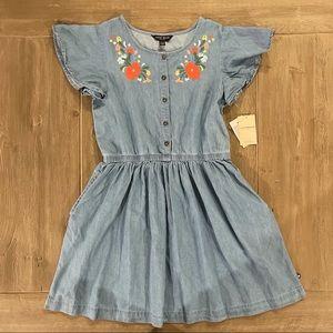 Lucky Brand Girls' Robin Wash Denim Shirt Dress